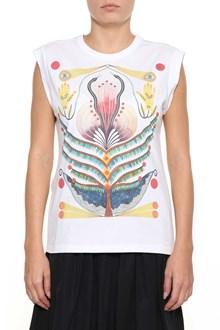 CHLOÉ Printed sleeveless t-shirt