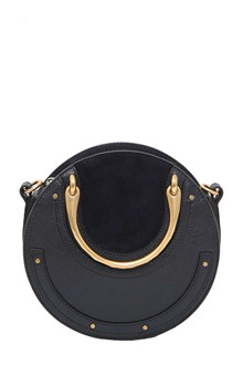 CHLOÉ Leather and suede 'Pixie' small bag