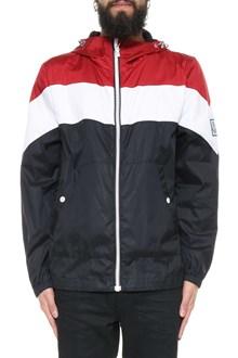 MONCLER Jjacket with hood and zipper