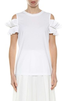 BRUNELLO CUCINELLI Top with frilled sleeves