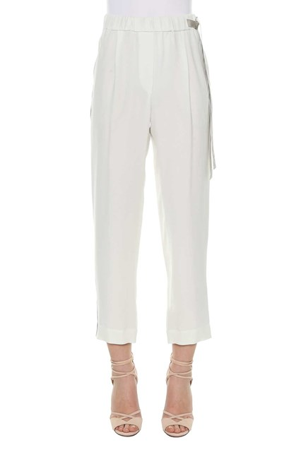 Pantalon Avec Des Bandes Embelli Brunello Cucinelli NY7jWpLv