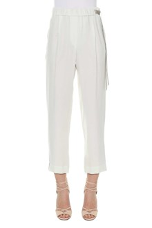 BRUNELLO CUCINELLI Trousers with embellished bands