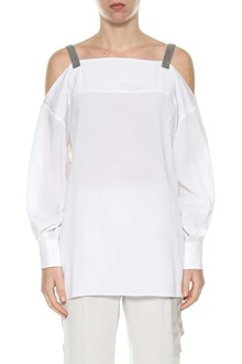 BRUNELLO CUCINELLI Off-shoulder top