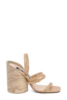 JACQUEMUS Design heel sandals