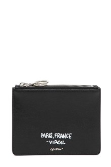 OFF-WHITE 'For display only' pouch