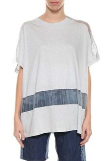 MAISON MARGIELA Tulle inserts t-shirt
