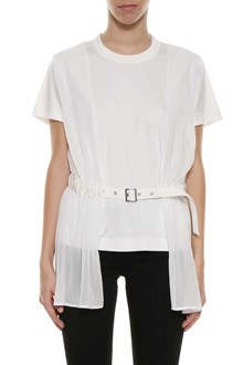 NOIR KEI NINOMIYA T-shirt with belt