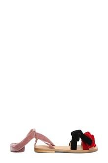 GIA COUTURE Velvet sandals