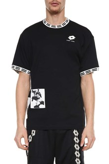 DAMIR DOMA X LOTTO Lotto t-shirt with patches