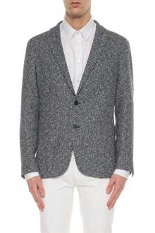 TAGLIATORE Tweed single breasted blazer