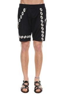 DAMIR DOMA X LOTTO Jersey bermuda shorts