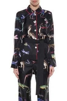 FOR RESTLESS SLEEPERS Printed pijamas shirt
