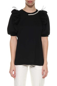SIMONE ROCHA T-shirt with pearls