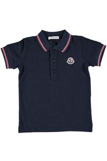 MONCLER Piquet polo shirt
