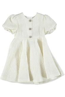 DOLCE E GABBANA Dress with jewel buttons