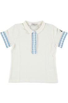 MONCLER Polo shirt with gros grain