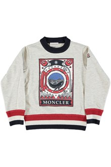 MONCLER Sweatshirt with print