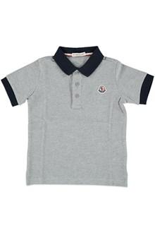 MONCLER Polo shirt with logo