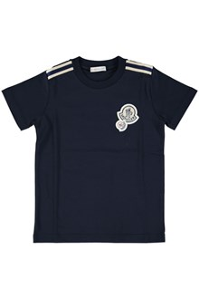 MONCLER T-shirt with logo patch