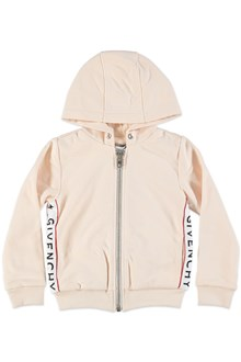 GIVENCHY Hoodie with logo bands