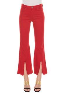 FEDERICA TOSI Jeans con spacco