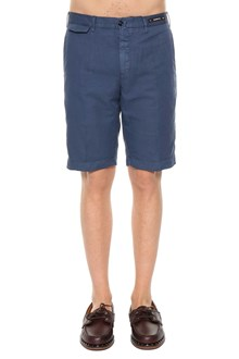PT 01 Linen bermuda shorts