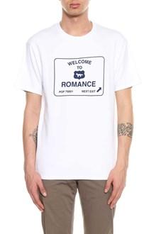 MAISON KITSUNE Road panel print t-shirt