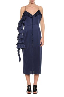 MAGDA BUTRYM Pozallo satin dress
