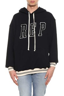 REPRESENT black  cotton Hoodie from Represent