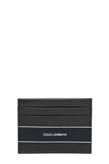 DOLCE E GABBANA Leather card holder
