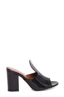 PARIS TEXAS Patent leather mule