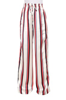 MONSE Striped side snap track pant