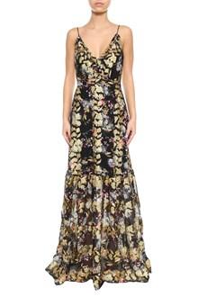 SALONI Ani lurex long dress