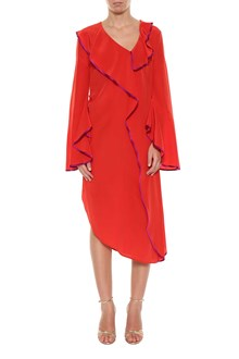 GIACOBINO BY ALESSIA GIACOBINO Contrast binding dress