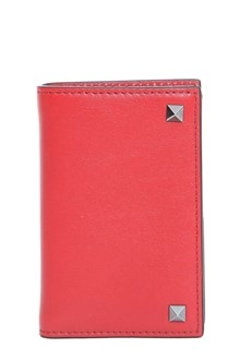VALENTINO GARAVANI Leather card holder