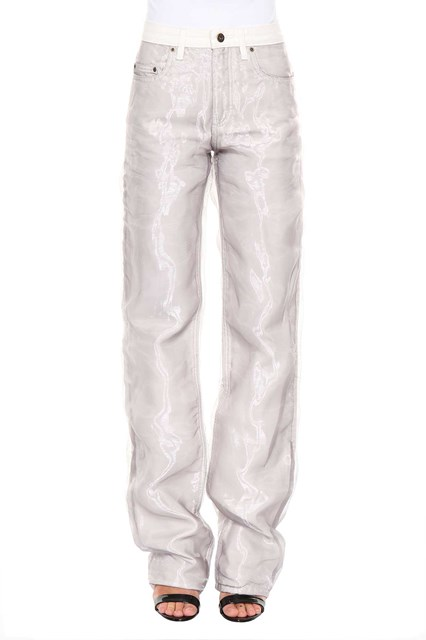 Organza overlay jeans Y / Project