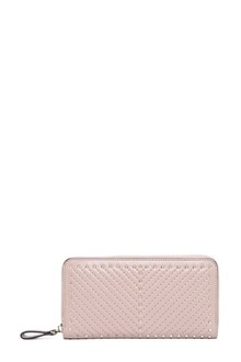 VALENTINO GARAVANI Leather wallet with studs