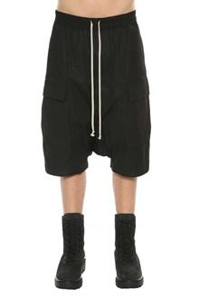 RICK OWENS Bermuda shorts with pockets