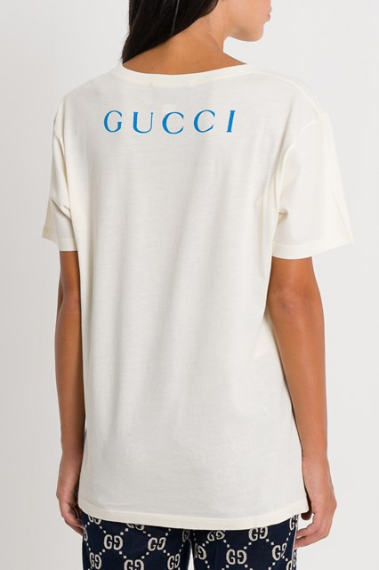 0deb2183 GUCCI Oversized t-shirt with Paramount logo