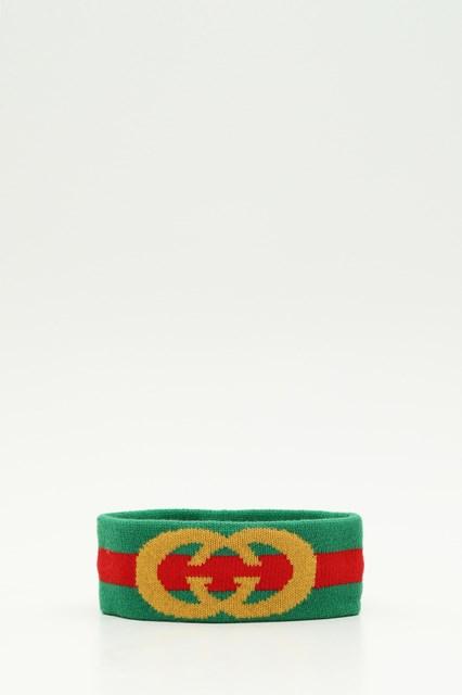 235318e1f0d Women Web wool headband with Interlocking G disponibile su ...