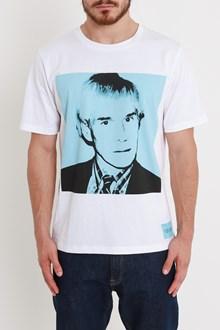 CALVIN KLEIN JEANS T-shirt Ritratto Warhol Azzurro