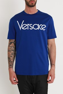 VERSACE Embrodered logo Tee