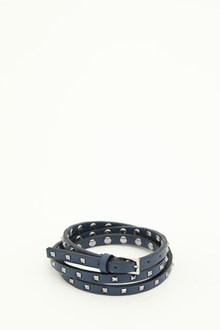VALENTINO GARAVANI leather double bracelet