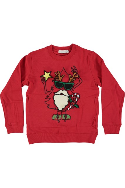 STELLA MCCARTNEY Red Christmas Sweater