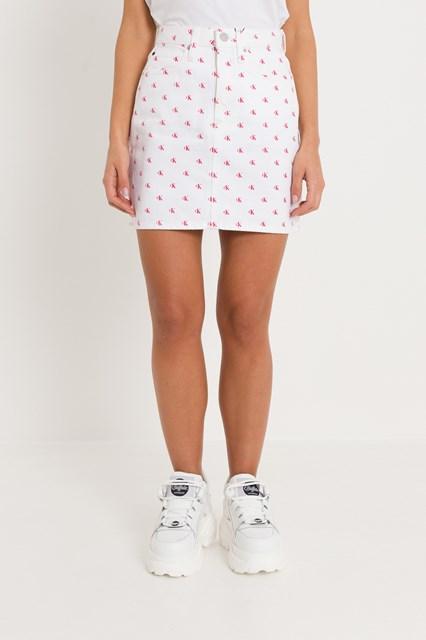 cb3694da3a Women Denim Skirt all-over CK disponibile su gaudenziboutique.com