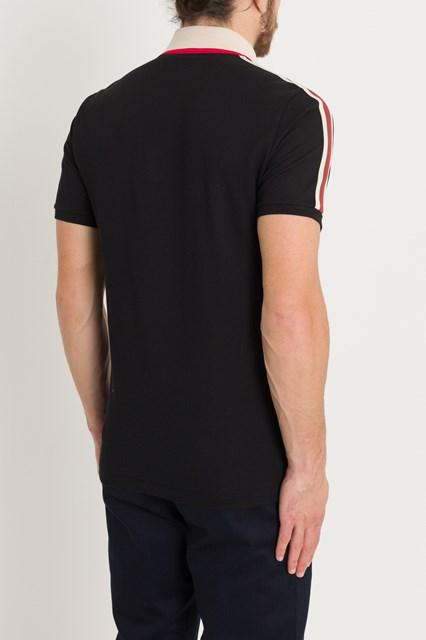 a96fa577baa8b3 Men Cotton polo with Gucci stripe disponibile su gaudenziboutique.com