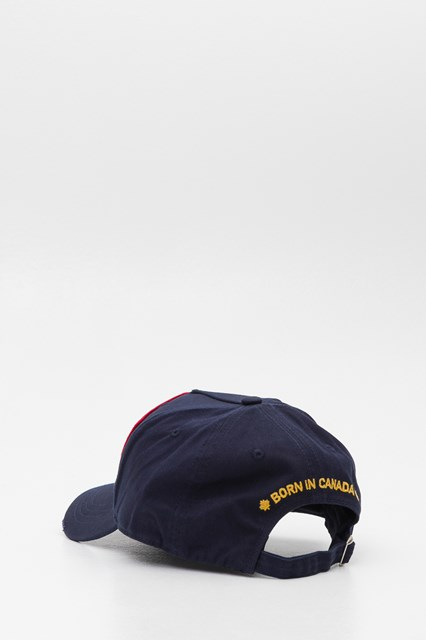 0acab08f1931c DSQUARED2 Baseball cap con patch ricamo DEAN   DAN Caten Dsquared 2 twins