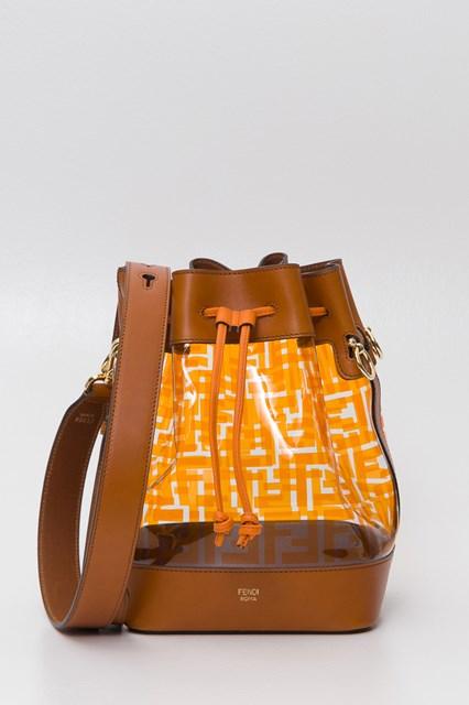 01ccf36fc37c Women Mon Trésor pvc and leather bucket bag disponibile su ...