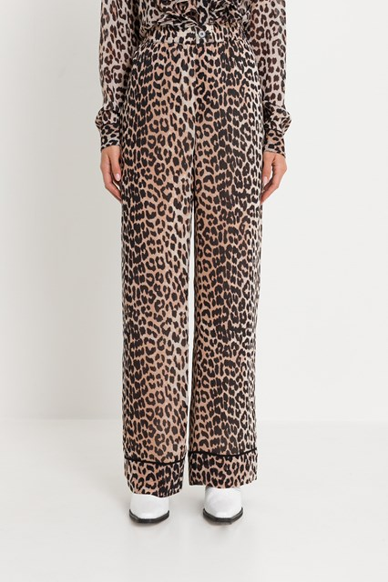 c172a77e Women Mullin leopard print pijama trousers disponibile su ...