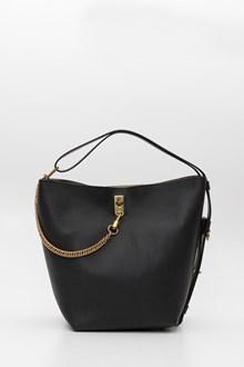 4944ce4ea1f GIVENCHY Grained leather GV mini bucket
